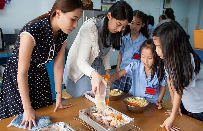 Increasing Healthy Behaviours around Schools in Asia