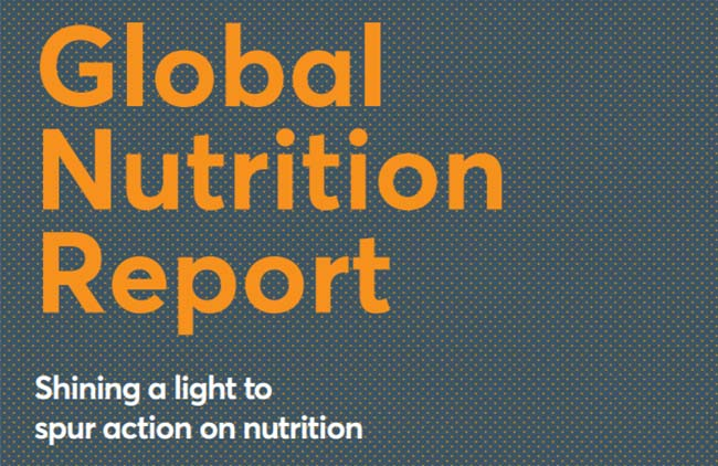 Shining a Light to Spur Action on Nutrition: Global Nutrition Report 2018