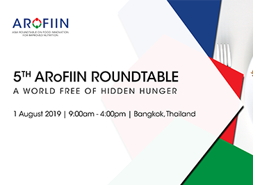 5th Annual Roundtable: A World Free of Hidden Hunger