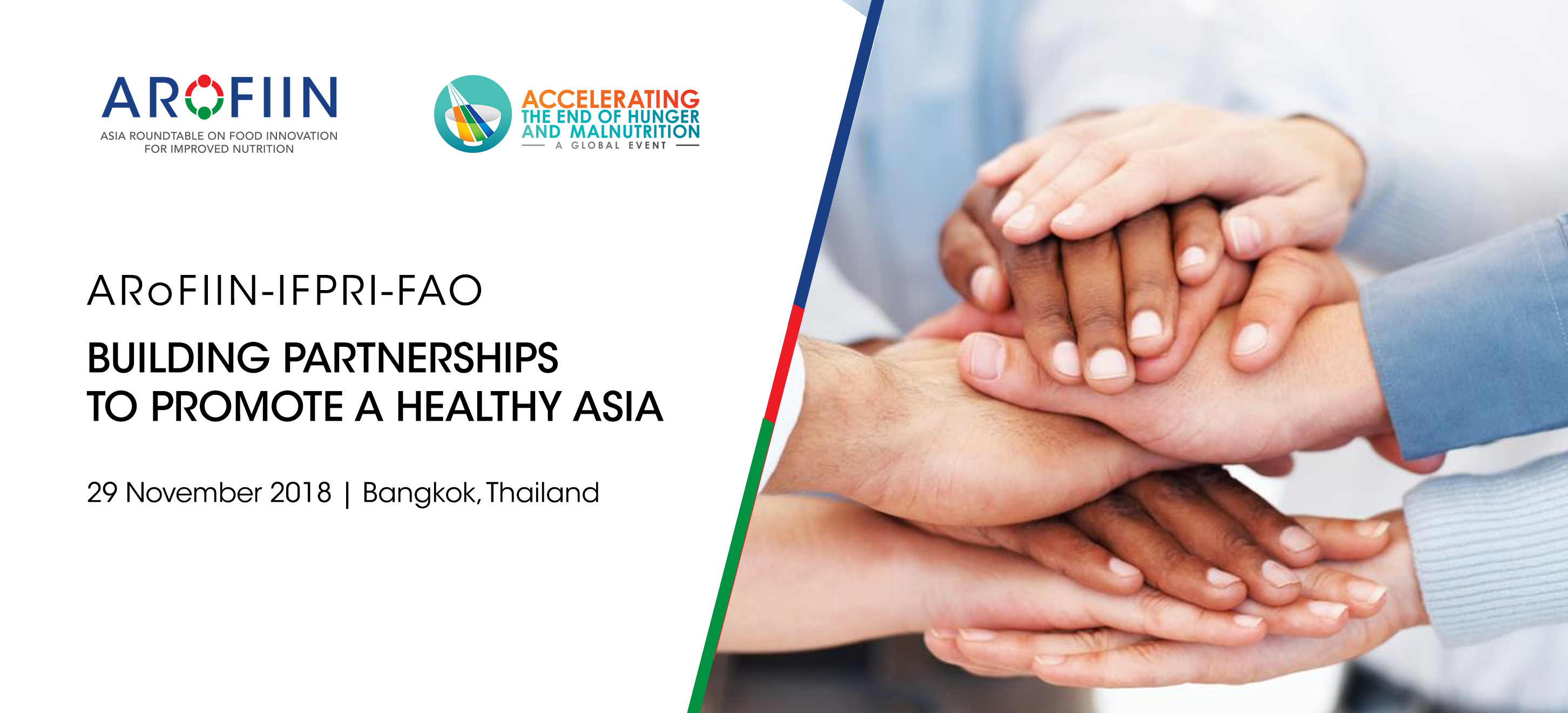 29 November 2018: Building Partnerships to Promote a Healthy Asia